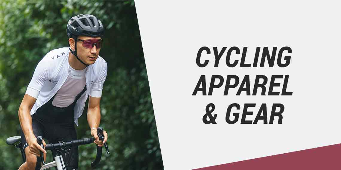 Cycling apparel and gear